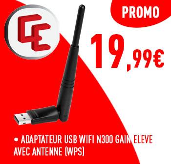 EDIMAX  WI-FI USB ADAPTER à 19,99€